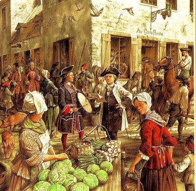 Flintlock and tomahawk: Montreal market 1749