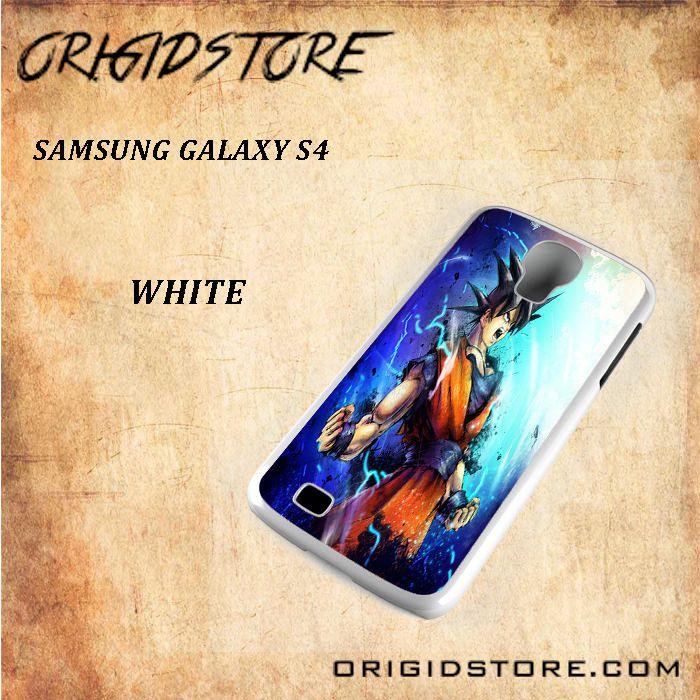 Goku Dragon Ball Z Snap On Samsung Galaxy S4 Case 3D Samsung Galaxy S4 Case Transparent Case