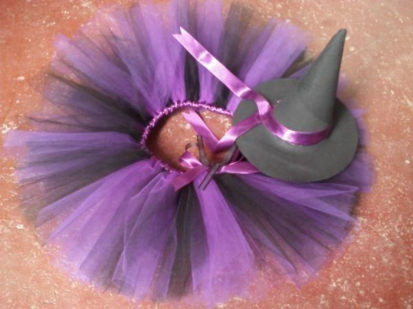 Uma saia de tule é bem simples de fazer para a fantasia de bruxa! :) #fantasias…