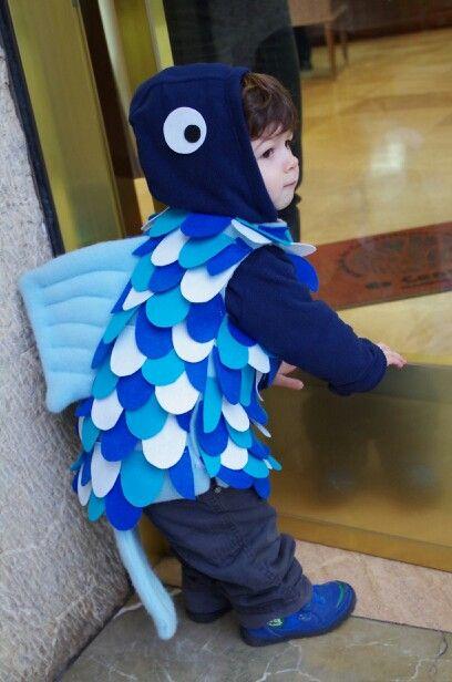 how to make a piranha fish costume