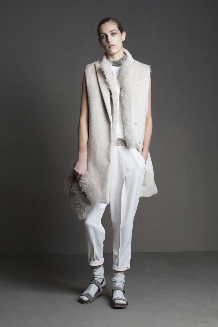 Brunello Cucinelli - Fall 2015 Ready-to-Wear - Look 23 of 30