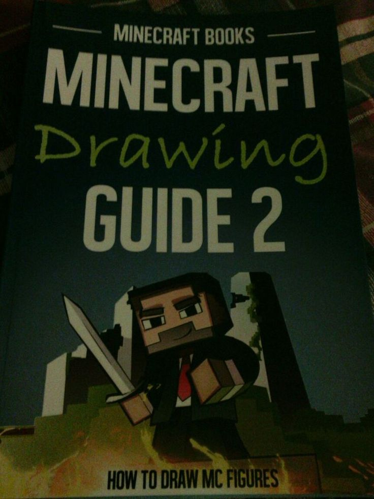 Relisted and Reduced to $17.99. Minecraft Books - Minecraft Drawing Guide 2 - How to draw MC figures