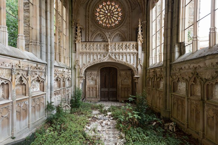 Abandoned church in France
