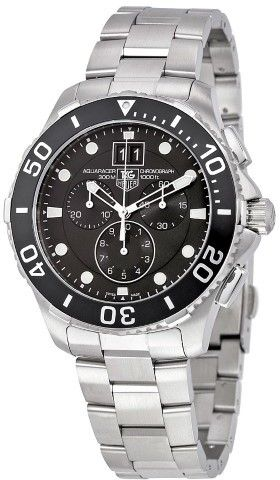 Tag Heuer Aquaracer Grande Date Chronograph Men's Watch CAN1010.BA0821