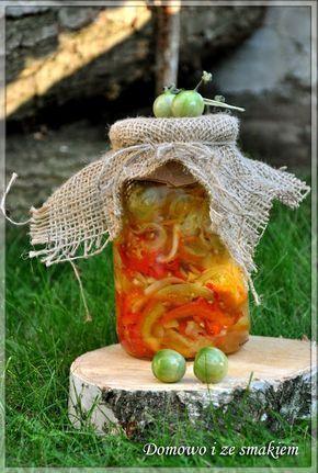 Domowo i ze smakiem: Sałatka z zielonych pomidorów