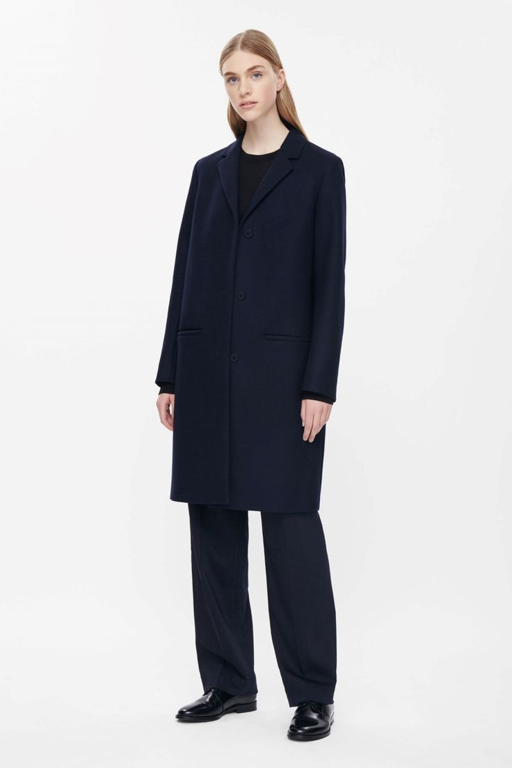 Tailored wool coat, COS
