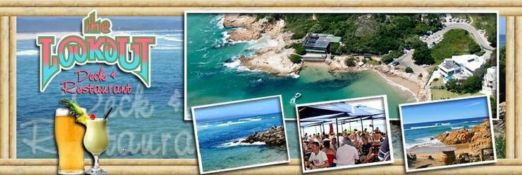 Lookout Deck and Restaurant, Plettenberg. Yummy cocktails. Delicious food. Amazing view.