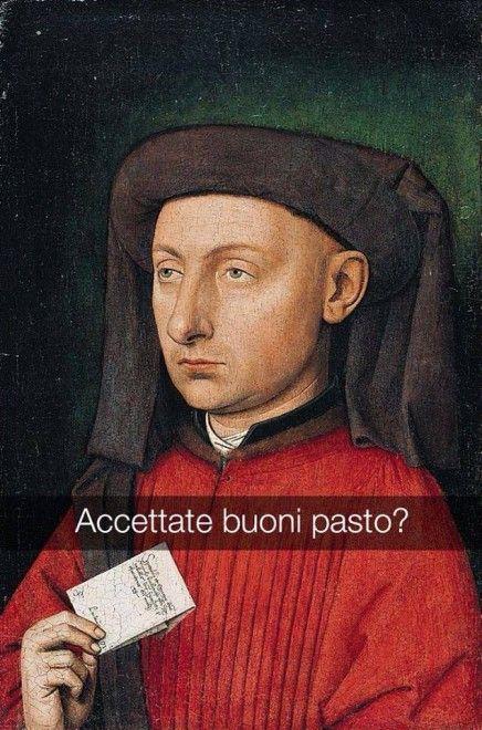Se i quadri potessero parlare Ritratto di Marco Barbarigo - Jan van Eyck
