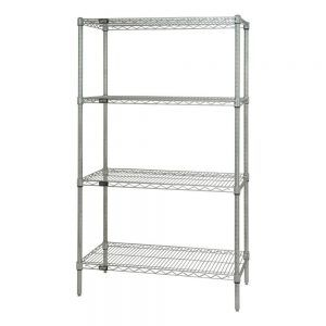 Stainless Steel Wire Mesh Shelving