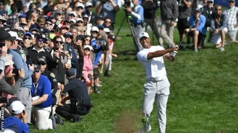 "Tiger Woods has won eight times at Torrey Pines  Farmers Insurance Open leaderboard  -11 A Noren (Swe); -10 R Palmer (US); -9 M Kim (US) JB Holmes (US); -8 B Hossler (US) Pan Cheng-tsung (Tpe) J Rose (Eng) J Day (Aus) T Finau (US) L List (US) G Woodland (US)  Selected others: -6: R Goosen (SA); -5 R Knox (Sco) -3 T Woods (US); -2 P Mickelson (US)   Full leaderboard  Tiger Woods carded a two-under-par 70 but called his third round ""gross"" at the Farmers Insurance Open.  The  14-time major…"