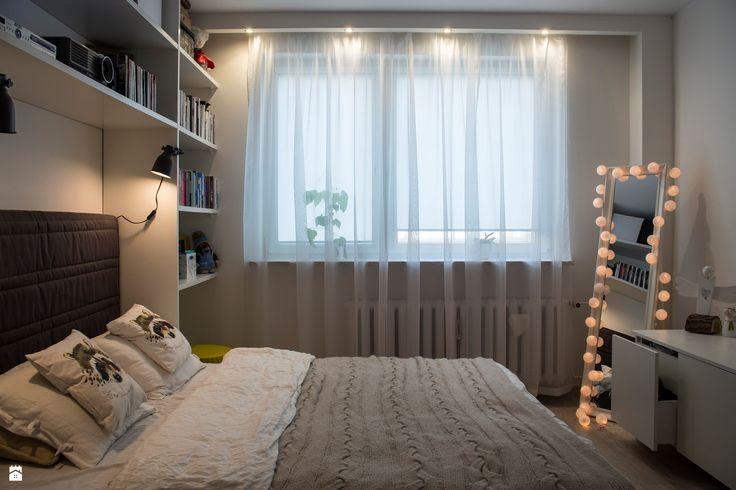 Sypialnia styl Skandynawski - zdjęcie od Patyna Projekt - Sypialnia - Styl Skandynawski - Patyna Projekt