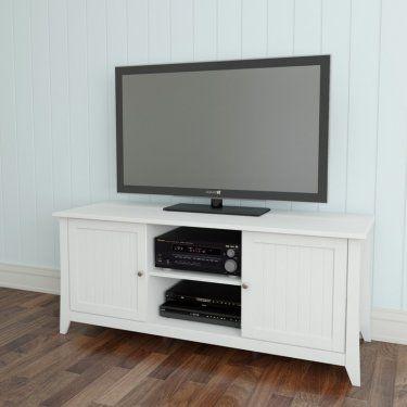 "Nexera Vice Versa 58"" TV Console - White"