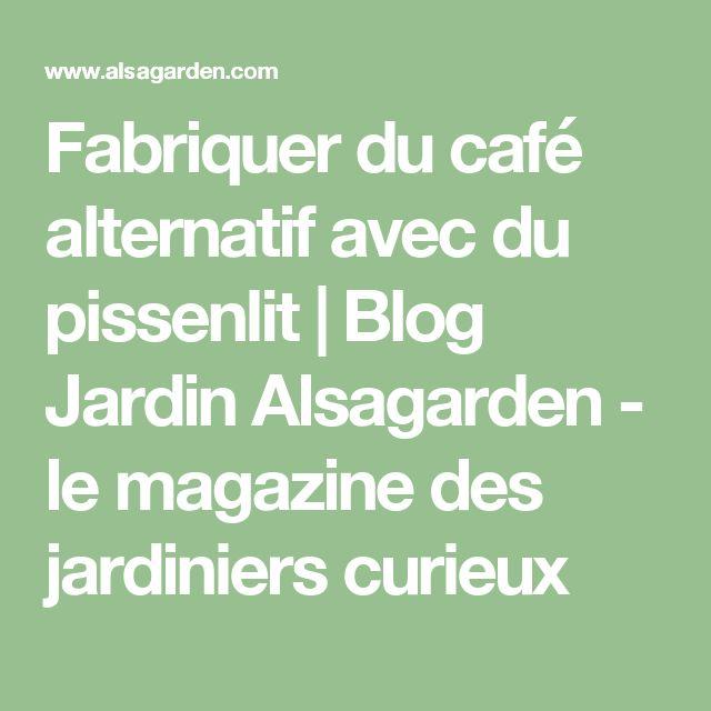 Fabriquer du café alternatif avec du pissenlit | Blog Jardin Alsagarden - le magazine des jardiniers curieux