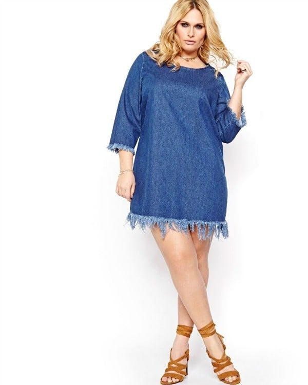 March 6th is National Dress Day, don't wait until then to add pretty new frock to your closest. Check out the 20 perfect spring dresses we are coveting this spring and need right now!  Everyone need a denim dress, why not this one from AdditionalElle.com?  Currently Obsessed: 20 Plus Size Spring Dresses We Want Now! http://thecurvyfashionista.com/2017/03/plus-size-spring-dresses/