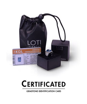 happy weekend! we have a gemstone identification card (certificated) click! www.loti.jewelry