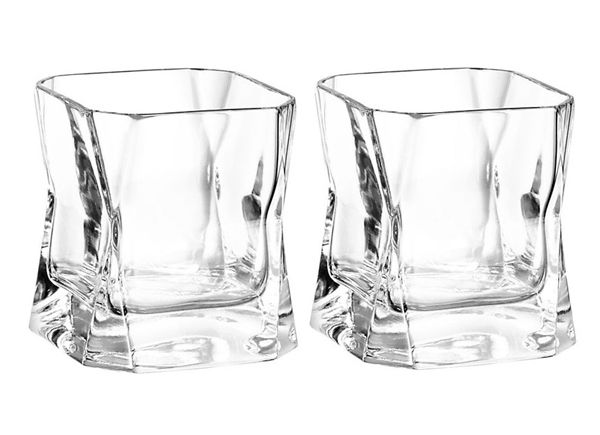 Black 37cl Cibi Double Blade Runner Glass