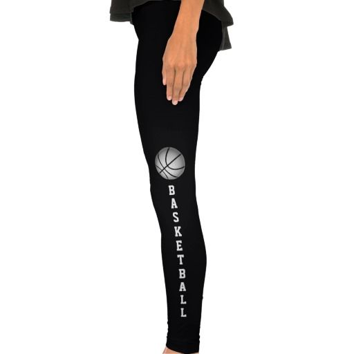 Basketball Leggings for Women.  Basketball Stuff With many being Customizable with YOUR NAME and or NUMBER.  Lots more Custom and Personalized Basketball Gifts CLICK HERE: http://www.zazzle.com/littlelindapinda/gifts?cg=196808750908670951&rf=238147997806552929*/  ALL of Little Linda Pinda Designs CLICK HERE: http://www.Zazzle.com/LittleLindaPinda*/
