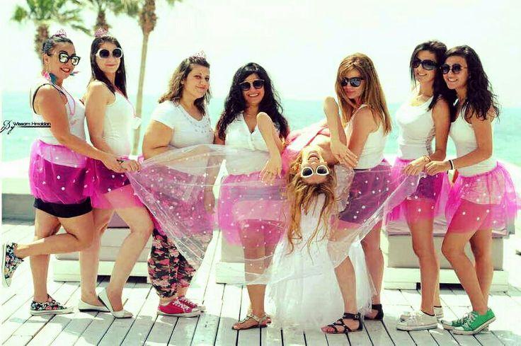 Bachelor pink crazy friends