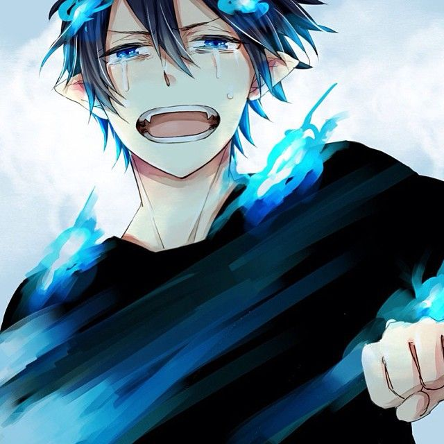 the blue exorcist art - oh Rin, don't cry!