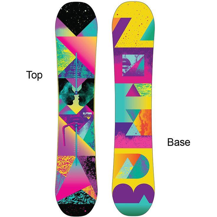 Burton Lipstick V-Rocker Snowboard (Women's) - 141