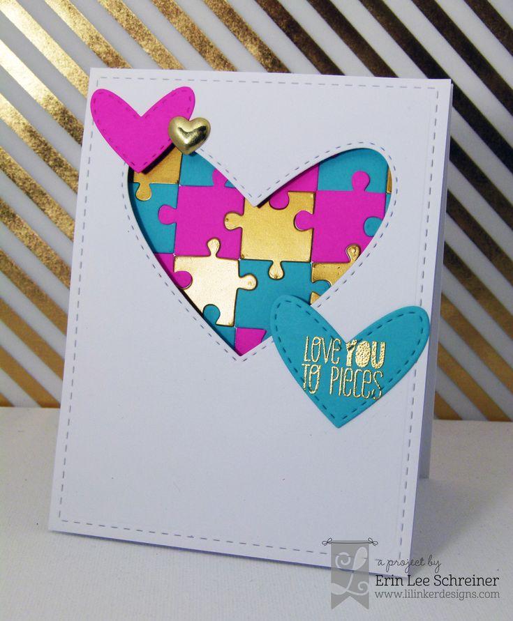 Erin Lee Creative Masculine Cards Pinterest Heart