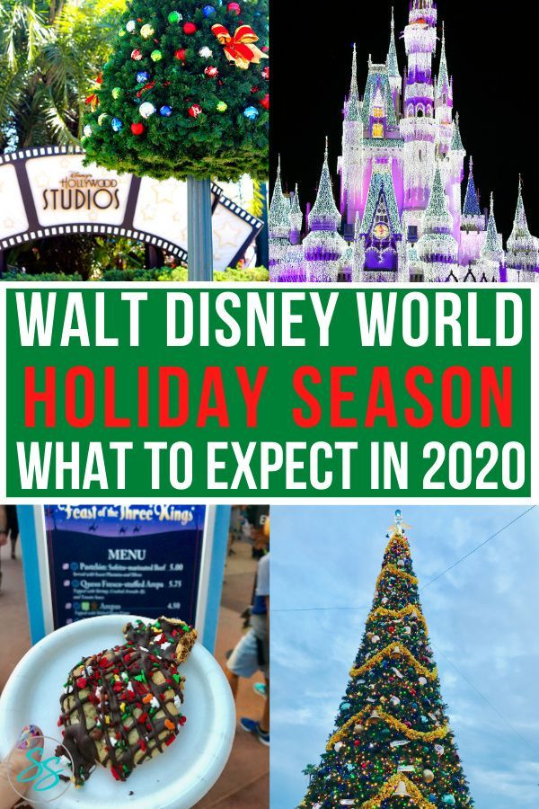 Christmas At Disney World A Complete Guide For 2020 In 2020 Disney World Christmas Disney World Disney Holiday
