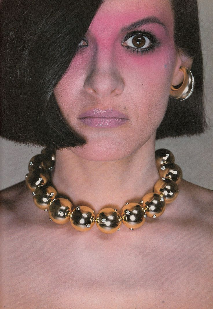 Richard Avedon: Paloma Picasso jewellery line for Tiffany, U.S. Vogue, November 1980.