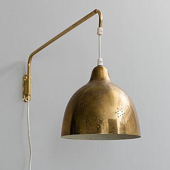 LISA JOHANSSON-PAPE, VÄGGLAMPA. Tillverkad av Orno. 1950-tal. - Bukowskis
