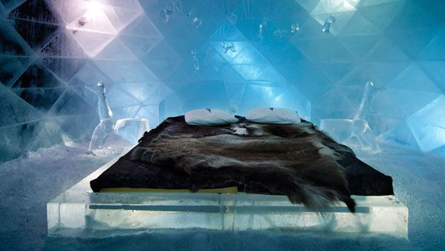 Stay at Sweden's Icehotel