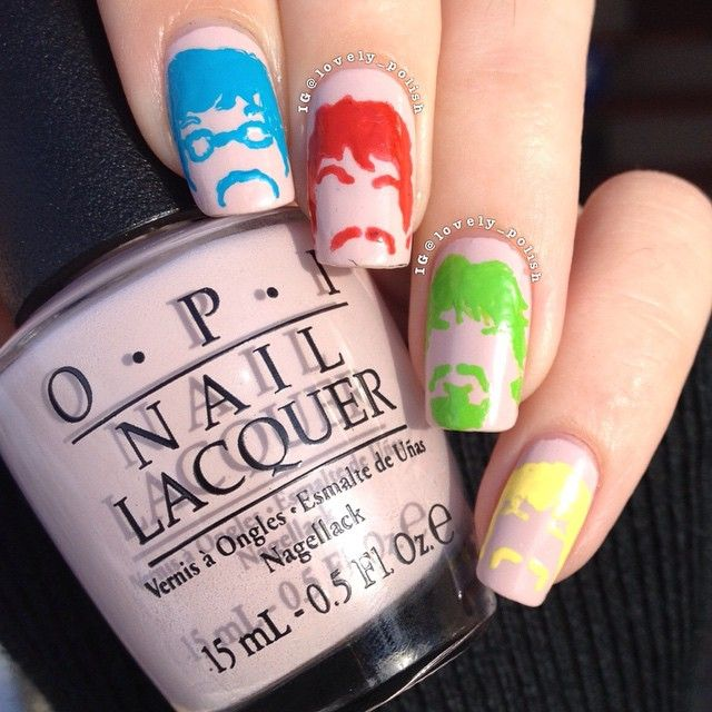 7 best Manly Nails (Father\'s Day and Movember) images on Pinterest ...