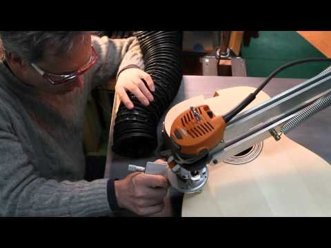Binding routing. Guitar maker TJ Thompson - Fretboard Journal - YouTube