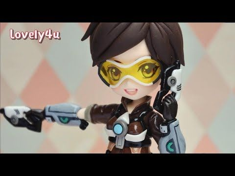 How to make Overwatch Tracer Figure | DIY| Clay Tutorial - YouTube