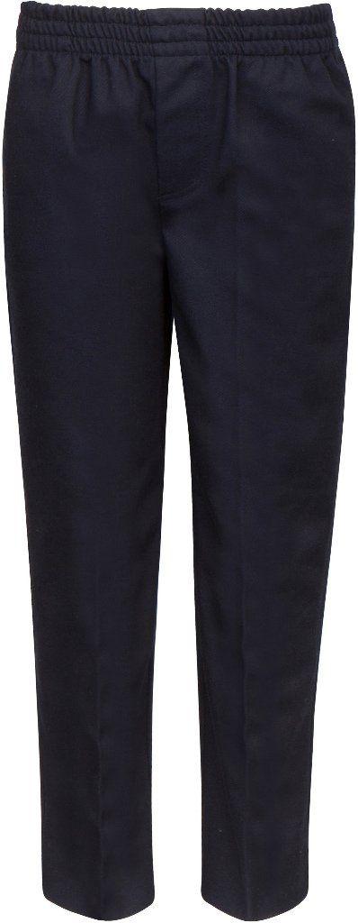 Wholesale Premium Boys Navy Uniform Pull-On Pants - Size 6 (Case of 6)