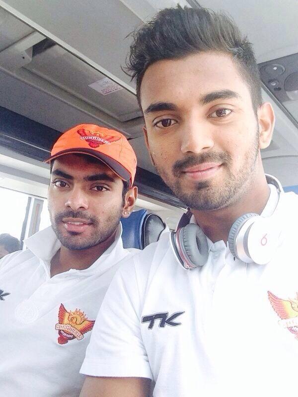 K L Rahul Selfie