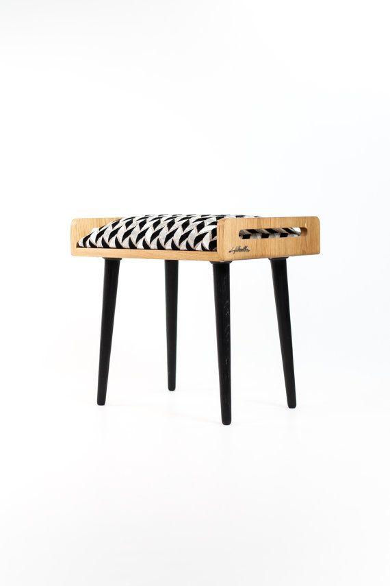Стул / Османская / скамья из цельного дубового стола от Habitables