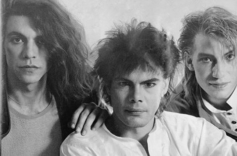 Alphaville Band. #MarianGold #RickyEcholette #BernhardLloyd :) 80's