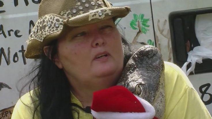 Mujer en Florida recibe autorización para mantener a un cocodrilo de 125...