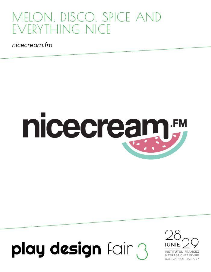 Nicecream.fm @ #PlayDesignFair | 28th -29th of June | French Institute