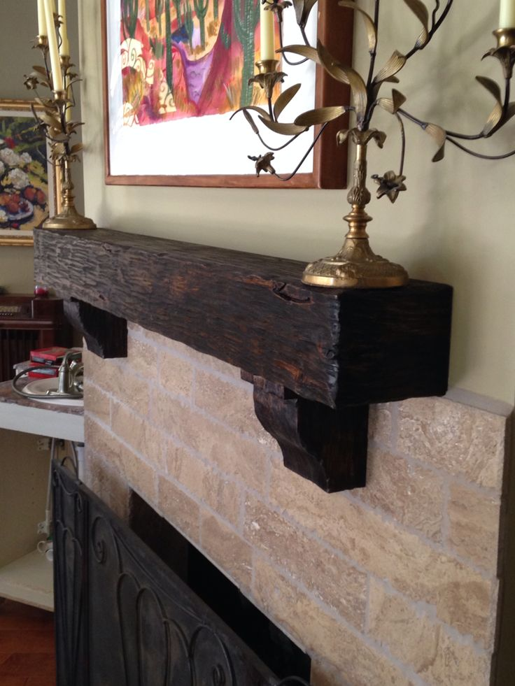 Distressed Alter Beam By Sundance Mantels Home Decor Pinterest Beams And Mantels