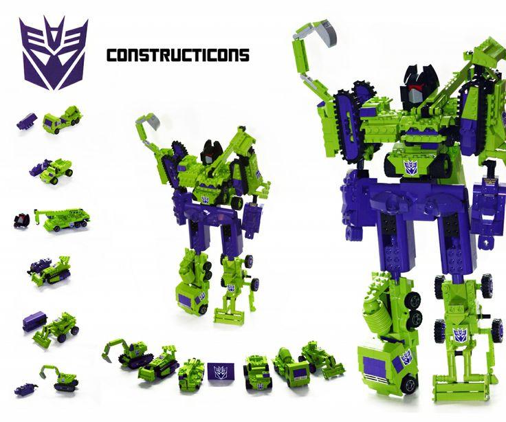 LEGO Transformers | ... , Decepticon, Orion Pax, Lego, Transformers,Lego Transformers