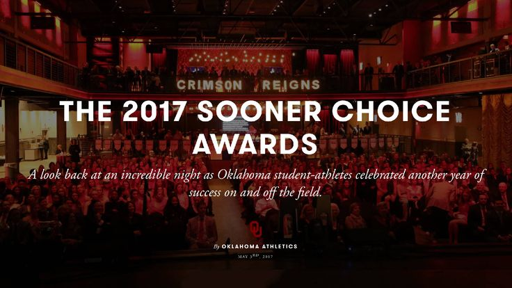 Crimson Reigns at Sooner Choice Awards - The Official Site of Oklahoma Sooner Sports