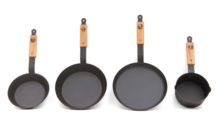 Iron Pans - Set of 4 by Netherton Foundry