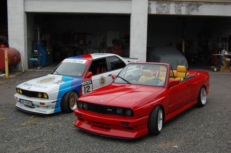 Ferrari Red BMW E30 M3 convertible, S52 swap, HOT ! – My Build Garage