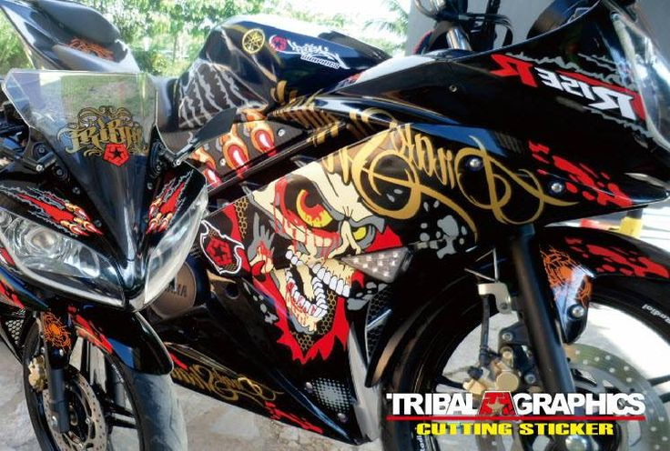 Cut & Wrap yamaha R15 Sticker 3D #TribalGraphics #CuttingSticker #3DCuttingSticker #Decals #Vinyls  #Stripping #StickerMobil #StickerMotor #StickerTruck #Wraps  #AcrilycSign #NeonBoxAcrilyc #ModifikasiMobil #ModifikasiMotor #StickerModifikasi  #Transad #Aimas #KabSorong #PapuaBarat