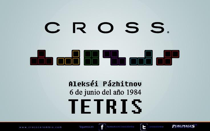 En el año 1984 en Rusia, Alekséi Pázhitnov inventa uno de los videojuegos más famosos: el Tetris.
