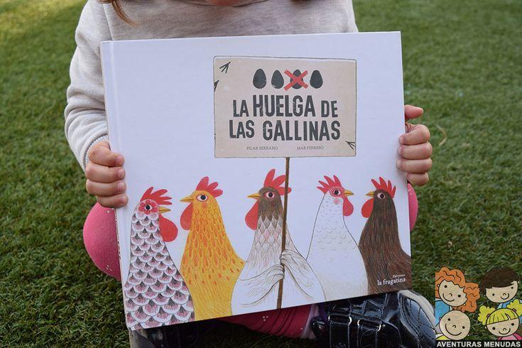 """Reseña del cuento """"La huelga de las gallinas"""" de Ediciones la Fragatina"""