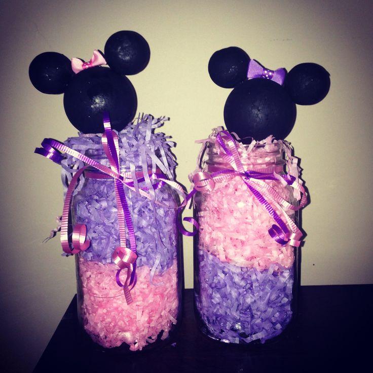 Minnie Mouse birthday decor -- by jennah renaud