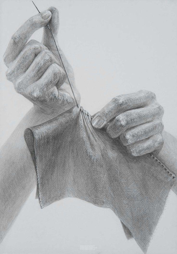 karakalem el cizimleri resimli body art