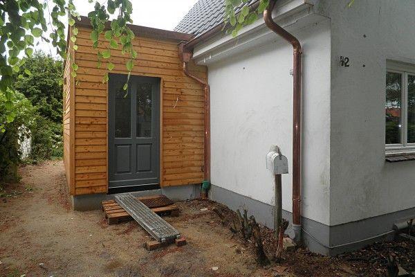 Anbau an ein Wohnhaus in Hamburg   HARMS UND KÖSTER BAU GMBH