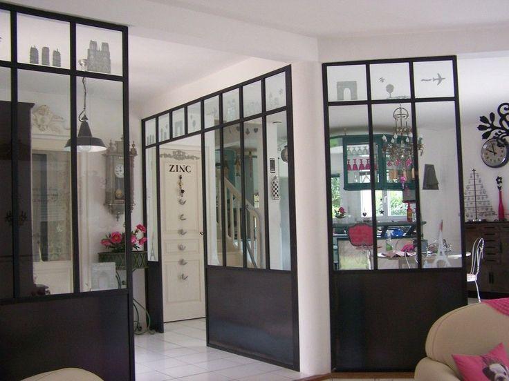 Autre exemple de cloison vitr e avec soubassement - Cloisons interieures vitrees ...